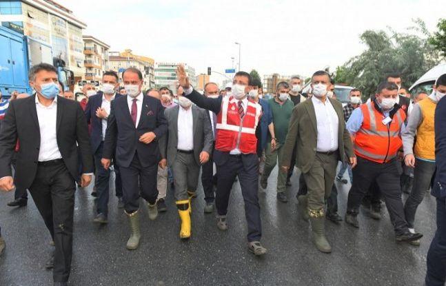 ESENYURT'TA SEL BASKINININ YARALARI SARILMAYA DEVAM EDİYOR