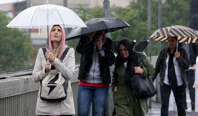 Meteoroloji'den kuvvetli sağanak yağış uyarısı! İşte18 Haziran hava durumu