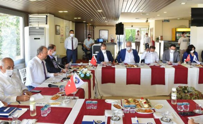 Başkan Hançerli, CHP'li belediye başkanlarını ağırladı