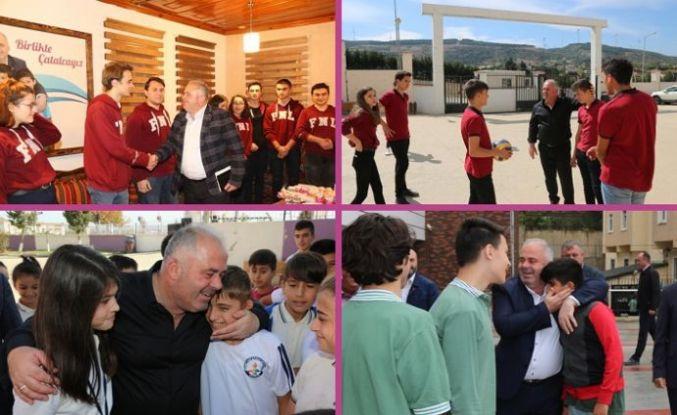Başkan Mesut Üner Öğrencilerin Hayallerini Gerçekleştirdi