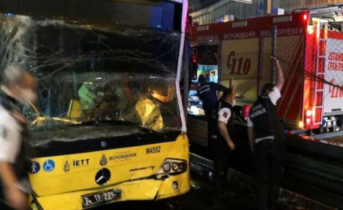 Bir metrobüs başka bir metrobüse arkadan çarptı: 7 yaralı
