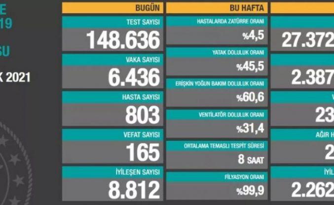 17 Ocak 2021 Türkiye'nin güncel koronavirüs verileri açıklandı.