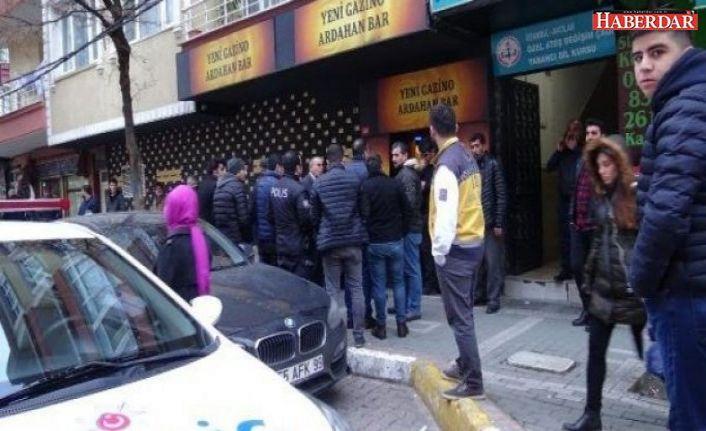 Avcılar'da bir barın ortağı olan kişi borçları yüzünden intihar etti.
