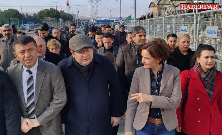 CHP, Gezi davası için tam kadro Silivri'de