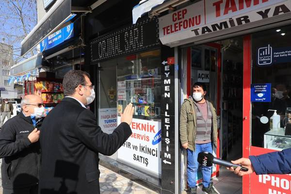 İstanbul büyük şehir başkanı Ekrem İmamoğlu insana yasak orman olmaz