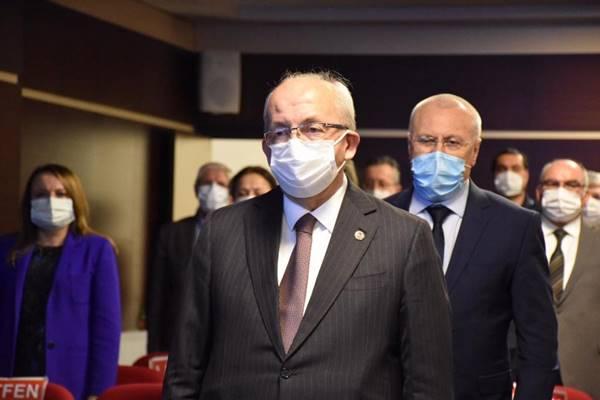 11 ilçe Belediye Başkanı ile Marmaraereğlisi ilçesinde ortak basın toplantısı