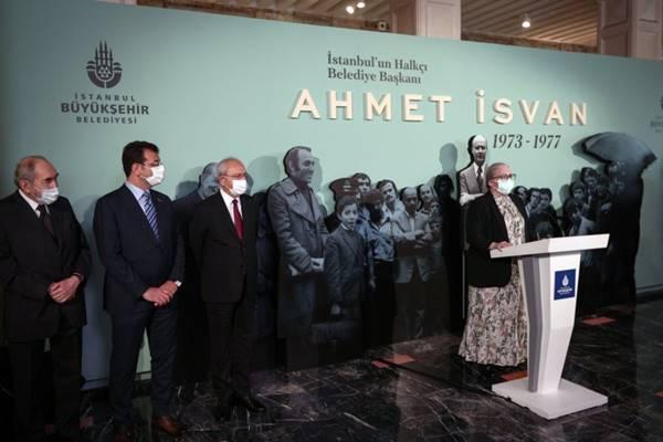 """CHP Genel Başkanı Kılıçdaroğlu: Ahmet Vafık İsvan Sergisi""""nin açılışını gerçekleştirdi"""