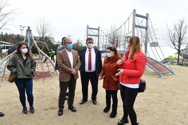 Çorlu Belediyesi'nden heyet Beylikdüzü'ne ziyarette bulundu