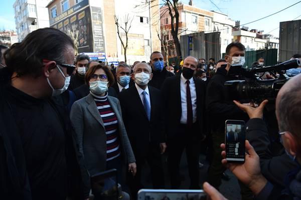 Kemal Kılıçdaroğlu: Avcılar'da kentsel dönüşüm incelemelerinde bulundu