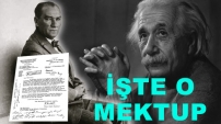 Einstein Atatürk'e mektubunda ne yazmıştı?