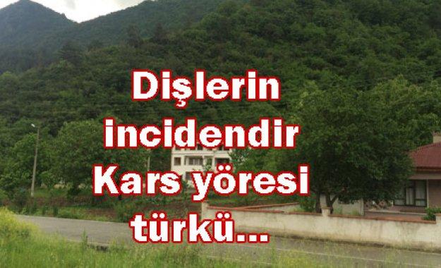 Dişlerin incidendir Kars yöresi türkü...