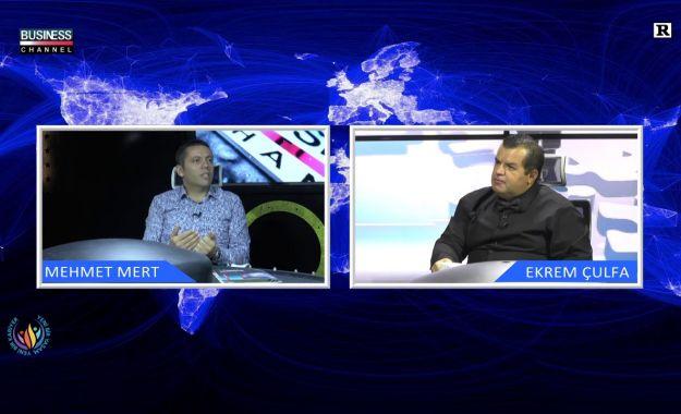Mehmet Mert Business Channel'ın konuğu oldu