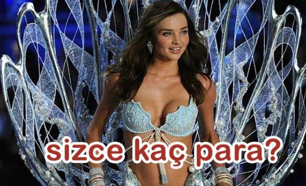 En Pahalı Victoria's Secret Sutyenleri bahane mankenler şahane